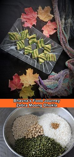 I want to create something not just tasty but appealing to the eyes. I got inspiration from Zebra cake and try to recreate the magic. So sit back, read and enjoy! Being Gujju gives me the right to brag about our humble dhokla which is high protein. It is steamed and prepared using few drops of oil. It is loved by all and especially kids and older people who can't eat hard food. I know in my house both my grandkids gets very excited when they see mom making dhokla ... haha. Dhokla Recipe, Garlic Chutney, Green Chutney, Masala Chai, Curry Leaves, The Make, Vegetarian Cooking, High Protein, Grandkids