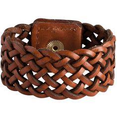 PIECES Leather Bracelet