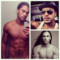 #McM #MartinSensmeier #nativeamerican from the #Tlingit and #Koyukonathabascan tribes of #Alaska #model #ambassador of the #nativewellnessinstitute @sensmeier