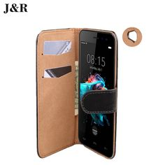 Crazy Horse cover For Wileyfox Spark 5.0inch flip cover Wallet Stand Holder Card case For Wileyfox Spark+Phone Bag&Protective