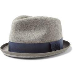 Rag+ +Bone+Wool-Felt+Trilby+Hat Ropa De Caballero 20aff19bd7d