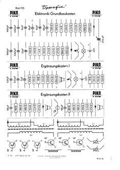 Typofix folie with schematic symbols / Typofix se schematickými značkami Sheet Music, Symbols, Music Sheets, Glyphs, Icons