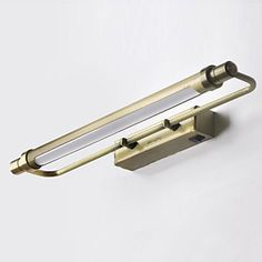 Lampadina LED incluso bagno Lampada da parete, 1 Luce, Classic Metallo Bronzo Galvanotecnica – EUR € 90.90