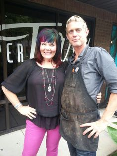 Lisa and Ron with their BOLD hair! (352) 351 1771