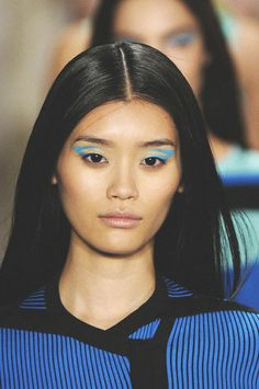 ohne titel s/s 2013 rtw, ming xi on the runway at nyfw