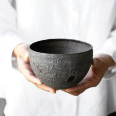 Black Bowl by Kan Ito