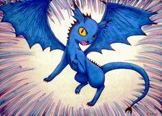 My fake eeveelution: Dragoneon by Raipeee