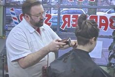 Side Shave, Shaved Sides, Barber Chair, Undercut, Fall Hair, Capes, Barber Shop, Bobs, Shaving