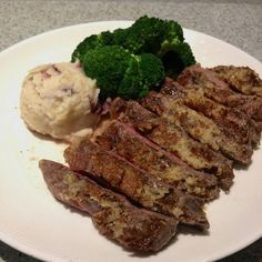 Tonight's special in Alice's   Roasted garlic rub 12 oz NY choice or 2 sides soup or salad 28$ Roasted Garlic, Soup And Salad, Steak, Facebook, Food, Meal, Essen, Steaks, Hoods