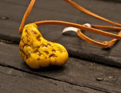 Yellow Precious Stone Necklace | ave310.com #chicnecklace #yellowstones #hippiejewlery