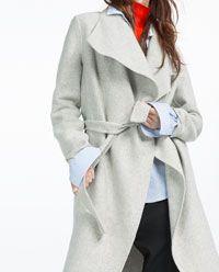 Image 6 of HAND MADE COAT from Zara