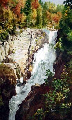 40 Mind Blowing Watercolor Paintings | http://art.ekstrax.com/2015/10/mind-blowing-watercolor-paintings.html