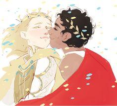 King Laurent & King Damianos - Captive Prince