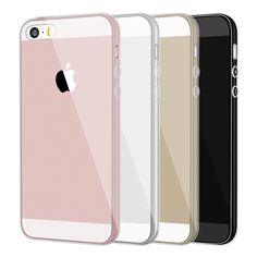 Case For Iphone 5 S 5S Clear Brand Silicone Cover Dustproof TPU Soft Phone Bag Case Transparent Coque For Iphone 5S