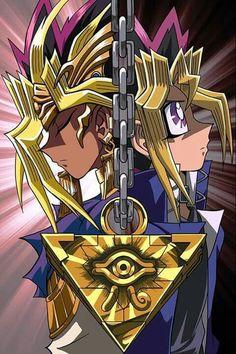 Pharaoh Atem also known as Yami Yugi & Yugi from Yu-Gi-Oh Otaku Anime, Yu Gi Oh Anime, I Love Anime, Anime Guys, Anime Art, Dessin Yu Gi Oh, Digimon, Atem Yugioh, Escalier Art