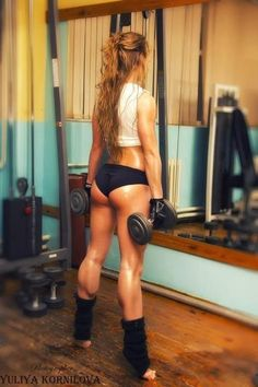 Great legs with lots of muscle definition. Just like I used to have in my gymnastics years. Must return to this. awesome site for workouts that work!