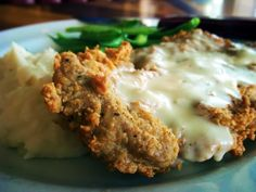 YUMMY! Chicken Fried Steak and Country Gravy!