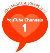 Top 25 Language YouTube Channels 2017