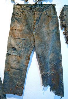 1873 Levi Strauss & Co. Vintage Jeans, Vintage Outfits, Denim Pants, Men's Jeans, Blue Jeans, Levi Strauss & Co, Raw Denim, Costume, Denim Fashion