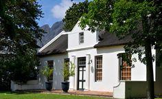 La Bri's Cape Dutch manor house @ La Bri Wine Estate, Franschhoek- 5 minutes from La Clé des Montagnes- 4 luxurious villas on a working wine farm.