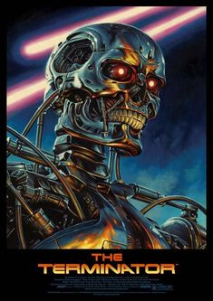"Jason Edmiston The Terminator ""One Possible Future"" Poster 2013 Print Art Mondo New Retro Wave, Retro Waves, Movie Poster Art, Poster S, Nono Le Petit Robot, Jason Edmiston, Film Science Fiction, Terminator Movies, Terminator 1984"
