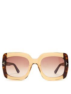 e513b41dacd Tom Ford Eyewear Square-frame sunglasses Tom Ford Eyewear