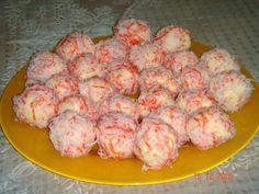 How to cook crab salad balls