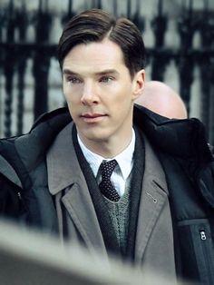 The Imitation Game  Benedict Cumberbatch as Alan Turing :) <3
