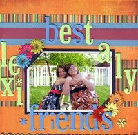 A Project by scrappin-newlywed from our Scrapbooking Gallery originally submitted 10/05/09 at 07:59 PM