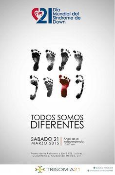 #21deMarzo #DMSD15 3.21 #WDSD15 Todos Somos Diferentes