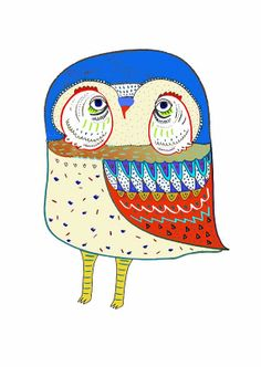 'Awesome Owl' by Ashley Percival