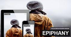Responsive Joomla Template with Fullscreen Header