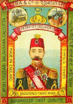 Indian textile label