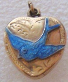 Bluebird jewellery, wow, I hadn't thought about this necklace for years, ah the good ole days!