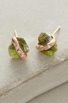 Sirciam Diamond-Wrapped Crystal Studs
