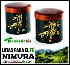 ¿Necesitas hacer un regalo o bien darte un capricho? ¡¡En http://www.tiendadetes.com/tienda-especial-regalos/282-comprar-latas-para-t%C3%A9-nimura.html tienes un maravilloso estuche con dos latas japonesas para el Té de elegante diseño!! #LatasTé #Nimura #Té #Tea #TeaTime #AccesoriosTé #Tiendadetés #Infusiones #Relax
