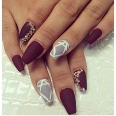 The Best Stiletto Nails DesignsStiletto nail art designs are called claw or claw nails. These ultra-pointy nails square measure cool and horny however they'll not be for everybody. As there's a much bigger surface, sticker nails permit United States Gorgeous Nails, Love Nails, How To Do Nails, Fun Nails, Amazing Nails, Dead Gorgeous, Matte Nails, Stiletto Nails, Coffin Nails