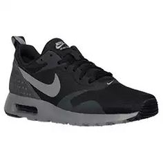 official photos b0ec6 011fa Men s Nike Air Max Tavas Running Shoes (Black Cool Grey Anthracite)
