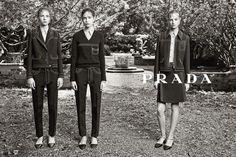 Prada's Resort 2015 Campaign via @WhoWhatWear