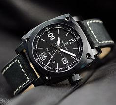 Steinhart AVIATION AUTOMATIC black DLC