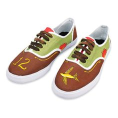 Painted Tennis Shoes, large