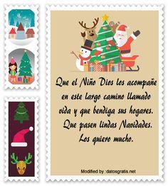 palabras originales para enviar en Navidad a mi familia,reflexiones para enviar en Navidad a mi familia: http://www.datosgratis.net/lindos-mensajes-navidenos-para-la-familia/