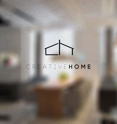 CreativeHome | logo design by Dusan Cezek, via Behance