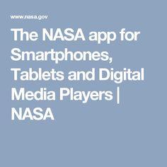 The NASA app for Smartphones, Tablets and Digital Media Players | NASA