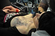 Imagem de tattoo and girl