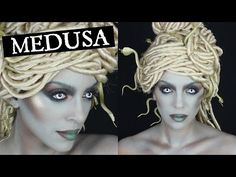 Modern Medusa | Halloween Tutorial - YouTube