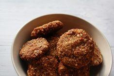 meruňkové sušenky bez lepku bez laktózy Paleo Paleo, Gluten Free Baking, Dog Food Recipes, Almond, Muffin, Sweets, Cookies, Chocolate, Healthy