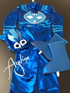 e0237e96d57fc Disfraz De Mask Heroes En Pijamas Catboy Owlette Y Gekko en Mercado Libre  México