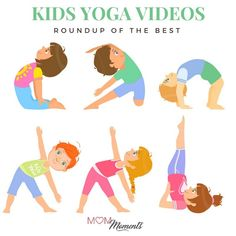 Kid Yoga videos are a great way to teach mindfulness. Here are some of the best kid yoga videos around!