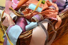 $13 grab bag of ribbon scraps